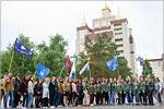 Вручение сертификатов бойцам студенческих отрядов