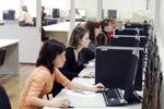 Работа студентов в компьютерном классе
