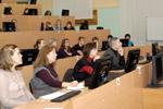 Лекция в дисплейном зале