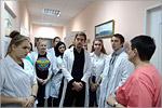Студенты ХБФ на экскурсии в Областной станции переливания крови