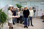 Студенты ХБФ на Сакмарской ТЭЦ