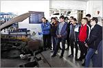 Студенты транспортного факультета на экскурсии в дилерском центре «Форд»