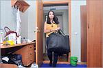 Студенты заселяются в общежитие № 8