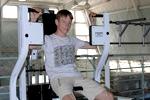 Занятие на тренажерах в физкультурно-оздоровительном зале
